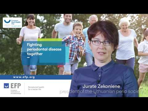 Zekoniene presents the European Gum Health Day 2017 in Lithuania