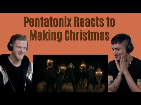 Pentatonix Making Christmas.Pentatonix Reacts To Making Christmas Edit
