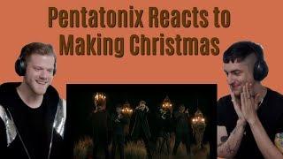 Pentatonix Reacts to Making Christmas (Edit)