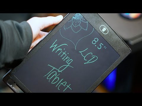 """8.5"""" LCD Writing Tablet Review"""