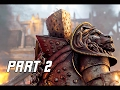 FOR HONOR Walkthrough Part 2 – HOLDEN CROSS (PS4 Pro Let's Play Gameplay Commentary)