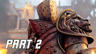 FOR HONOR Walkthrough Part 2 – HOLDEN CROSS (PS4 Pro Let