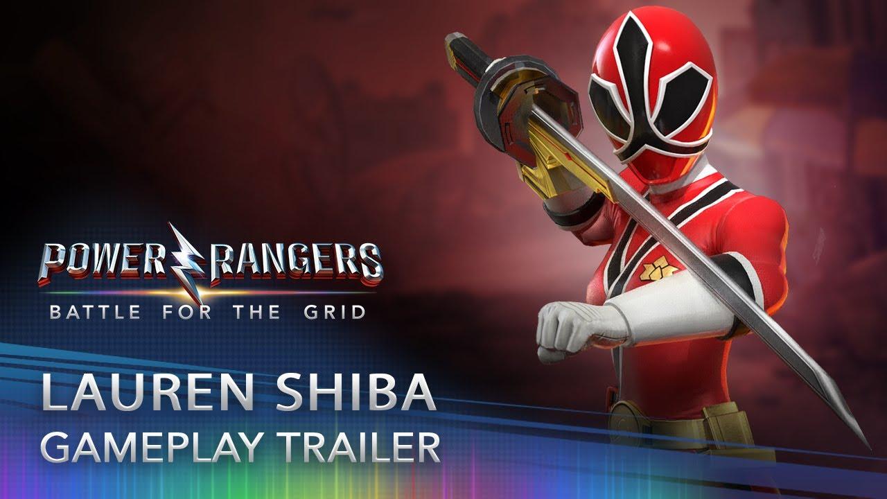 Download Power Rangers: Battle for the Grid - Lauren Shiba (Red Samurai Ranger)