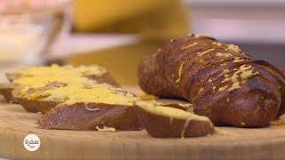 خبز محمص بالثوم | سالي فؤاد