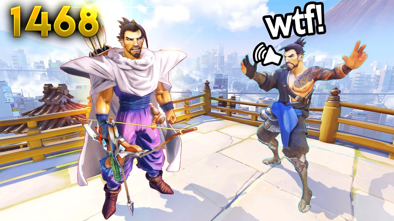 Overwatch Daily WTF Moments Ep.1468 (Funny and Random Moments)