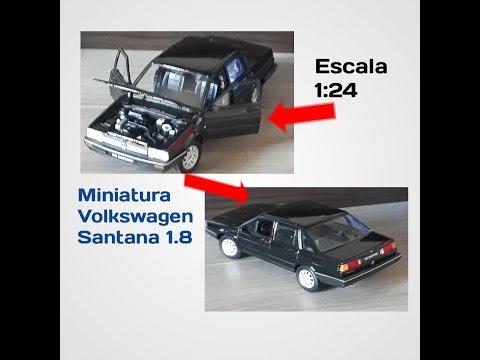 Miniatura Volkswagen Santana 1.8 1:24