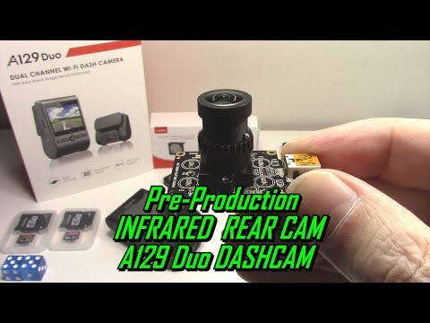 VIOFO A129 Duo Dash Cam Infrared Camera Pre-Production