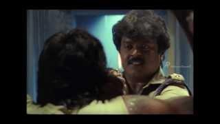 Managara Kaval Tamil Movie Scene | Vijayakanth investigates fire case | Anandraj | Nassar