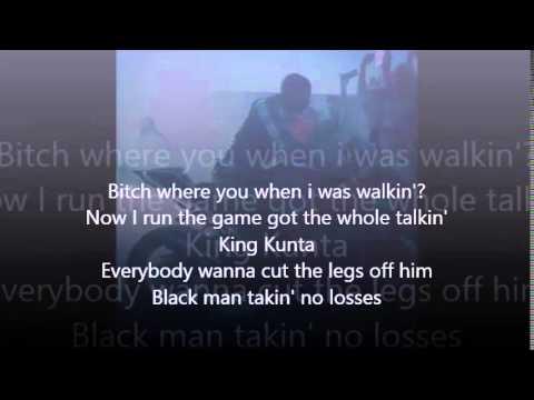 Kendrick Lamar King Kunta lyrics