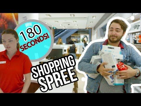 Electronic Store SHOPPING SPREE!!