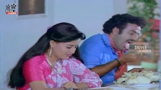 Balakrishna & vijayashanti Hilarious Comedy Scene | Hilarious Comedy | Silver Screen Movies