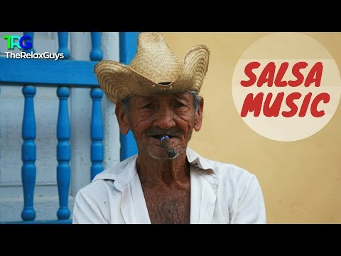 2 Hours of Salsa Instrumental Music | Fireplace with Instrumental Latin Music ♫ 38