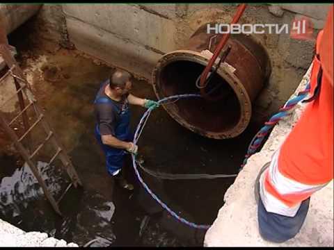 Водолазы в канализации