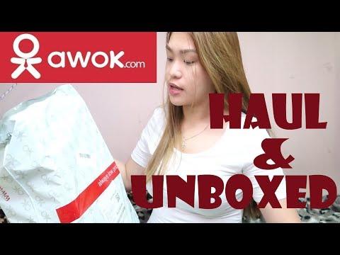 Haul + Unboxing from AWOK.COM UAE (Random stuff shopping)