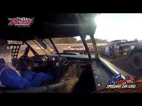 #19 Jim Gilbert - Super Stock - 11-17-19 Boyd's Speedway - In-Car Camera