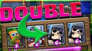 NO WAY!! • Double Giant Skeleton • Is This possible in Clash Royale