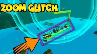 *ZOOM* GLITCH (SPEED) Build a Boat for Treasure ROBLOX