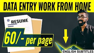 🟥RESUME Data Entry Work From Home 🏠 | Full Details with PROOF screenshot 5