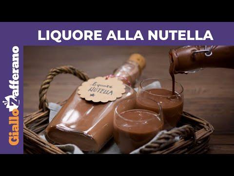 Liquore Alla Nutella Ricetta In 1minuto Youtube