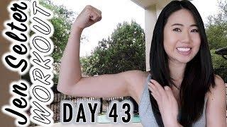 JEN SELTER Day 43 Bikini Body Challenge | My Fitness & Weight Loss Transformation | Fitplan App