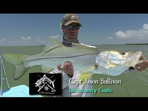 Captains Tales Episode 40 Capt Jason Sullivan-Redfish In Crystal Clear Water
