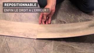 Lame Vinyle Repositionnable Gerflor Senso Adjust Video De Pose Youtube