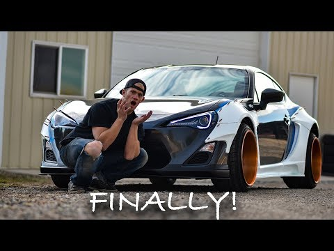 Installing the RallyBacker Widebody on the FRS!