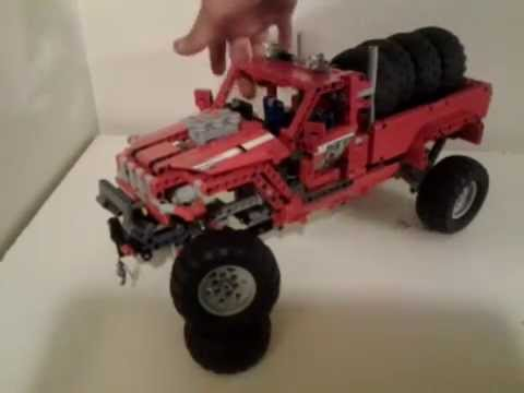 lego technic customized pick up truck 42029 review. Black Bedroom Furniture Sets. Home Design Ideas