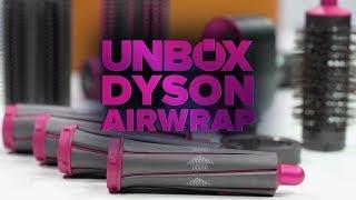 Dyson Airwrap unboxing