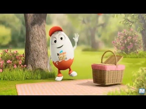Kinder Joy Surprise Eggs TV Ad Compilation