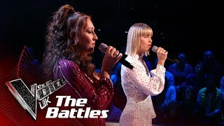 Molly Hocking VS Connie Lamb - 'With You' | The Battles | The Voice UK 2019 Video