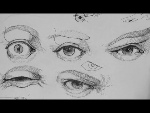 Pen ink drawing tutorials how to draw realistic eye pen ink drawing tutorials how to draw realistic eye expressions youtube ccuart Image collections