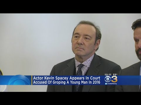 Kevin Spacey Appears In Court To Face Sexual Assault Allegations