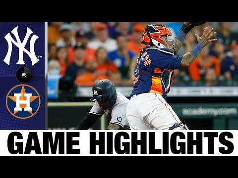 Yankees vs. Astros Game Highlights (7/11/21) | MLB Highlights