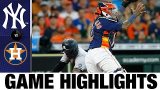 Yankees vs. Astros Game Highlights (7/11/21)