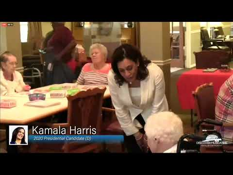 Michael Berry - Elderly Nursing Home Resident Calls Kamala Harris Out On Her Health Plan