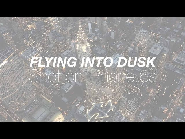 Flying into Dusk // A 4K iPhone 6s Film
