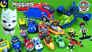 NEW Sweetie toy! Complete Collection of Paw Patrol Mission Paw Toys Air Patroller Surprise Mashems