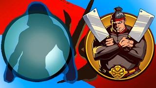 МЯСОРУБКА ТОПОРЫ МЯСНИКА игра Shadow Fight 2 бой с тенью #19 #КРУТИЛКИНЫ