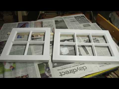 How to Make a Window:  Wooden Sash Windows