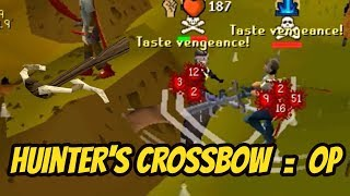 Download lagu Hunter s Crossbow is fun Zerk PKing OSRS MP3