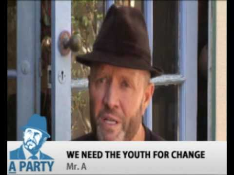 We need the Youth for Change - Your vote can make a differen