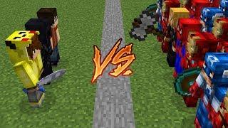 ISMETRG VS SÜPER KAHRAMAN KIYAMETİ! 😱 - Minecraft