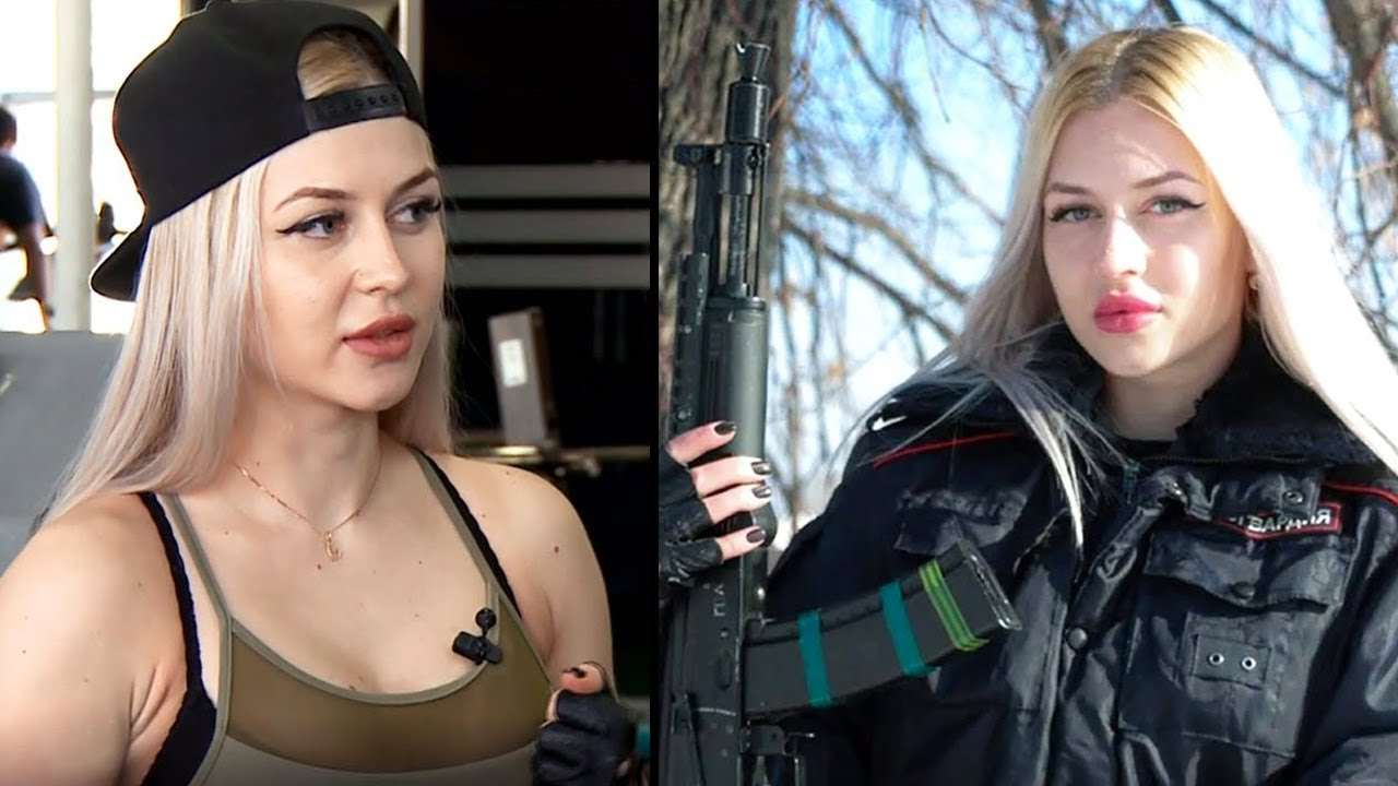 الفتاة الروسية،  الحارسة الخاصة للرئيس الروسي