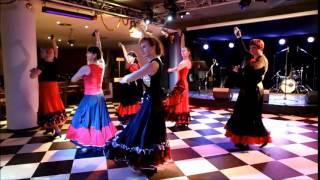 Фламенко. Танец с кастаньетами. Flamenko. Akopova Dance Studio. Москва