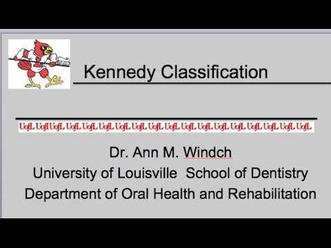 Kennedy Classification RPD Lecture #2 - YouTube