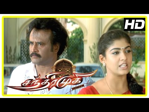 Chandramukhi Tamil Movie | Nasser doubts Rajinikanth | Nassar Funny Scene | Nayanthara | Jyothika