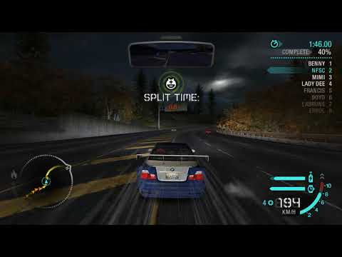NFS Carbon: Rockport City Race - Hwy 2001 [Imported From NFS:MW]