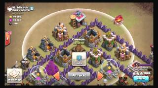 Clash of Clans: HOW TO: Kill enemy cc post poison update th8 *King is Going to Max*