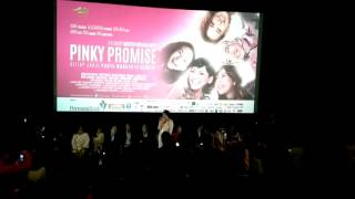 Video Gala Premiere Film Pinky Promise download MP3, 3GP, MP4, WEBM, AVI, FLV September 2018